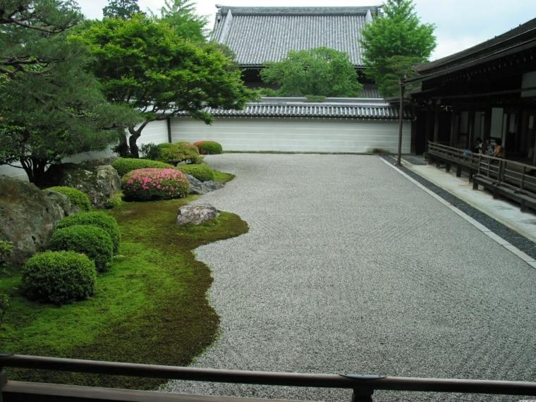 Como hacer un jard n con piedras rocas y plantas - Hacer jardin zen ...