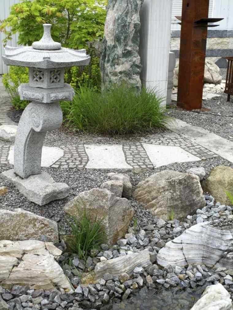 Como hacer un jard n con piedras rocas y plantas for Piedras de rio para jardin