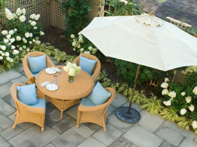 Decoración de jardines pequeños y patios traseros -