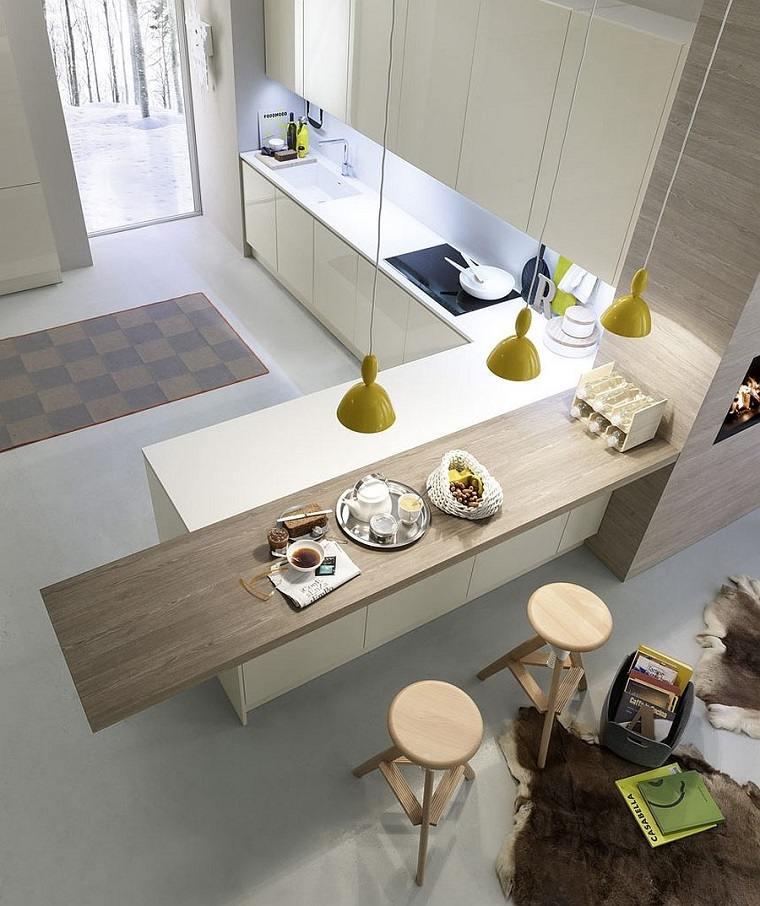 creativa moderna especial cocina casas ventanas