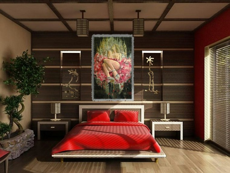 cuadros feng shui dormitorio