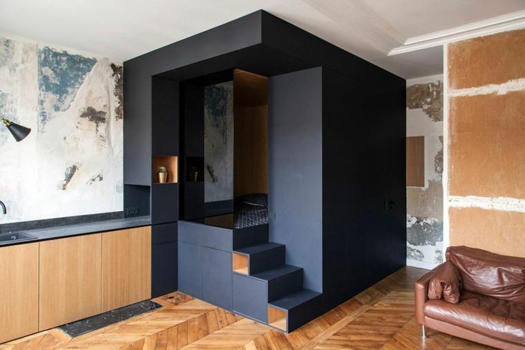 cubo color negro