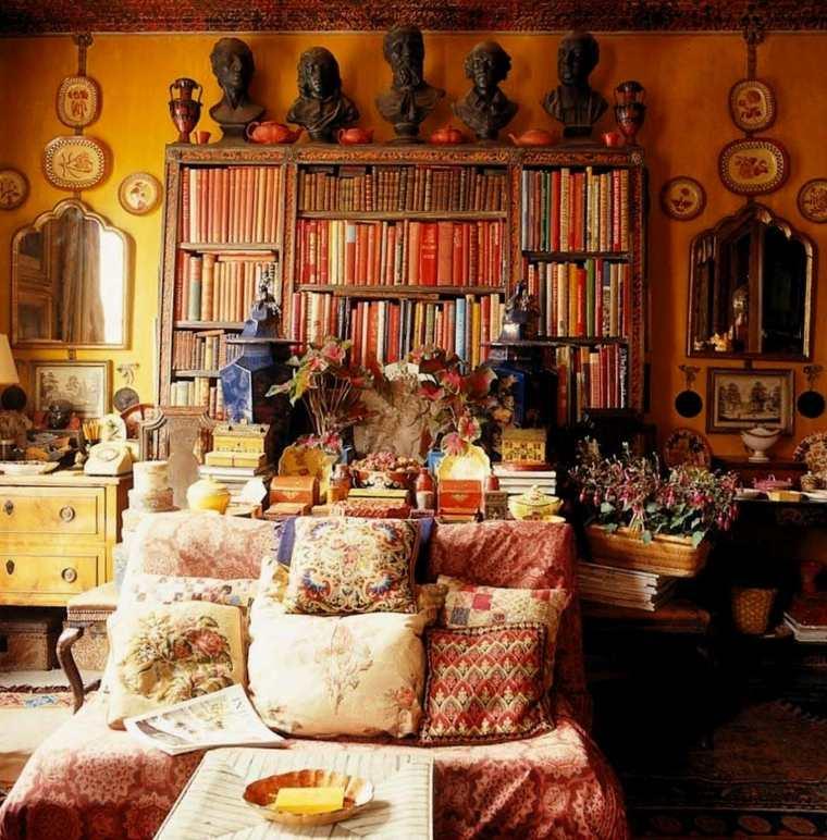 decoracion hippie aires desenfadados y llenos de color