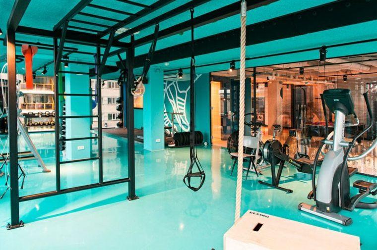 decoracion de interiores ideas azul intenso lineas