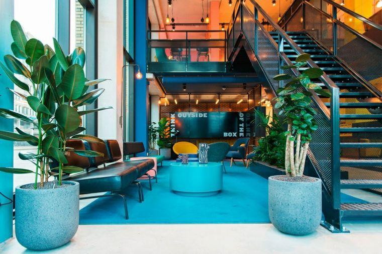 decoracion de interiores ideas macetas plantas soluciones