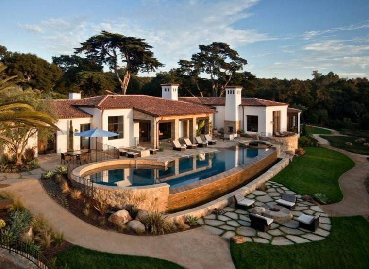 decoracion de jardines con piscina DesignARC ideas