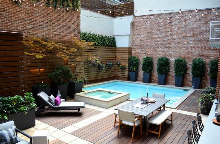 decoración de jardines con piscina jeffrey erb landscape ideas