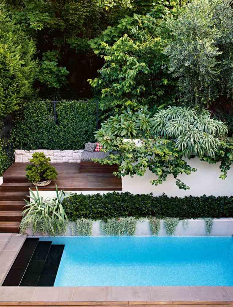 Decoraci n de jardines con piscina y consejos para los - Decoracion de jardines con piscina ...