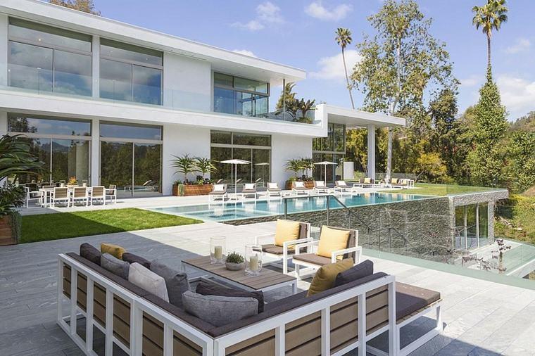 decoración de jardines con piscina quinn architects ideas