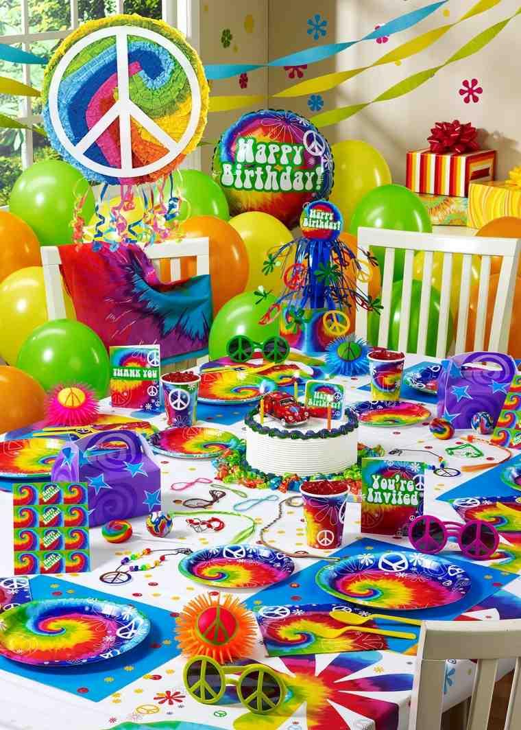 fiesta tema hippie