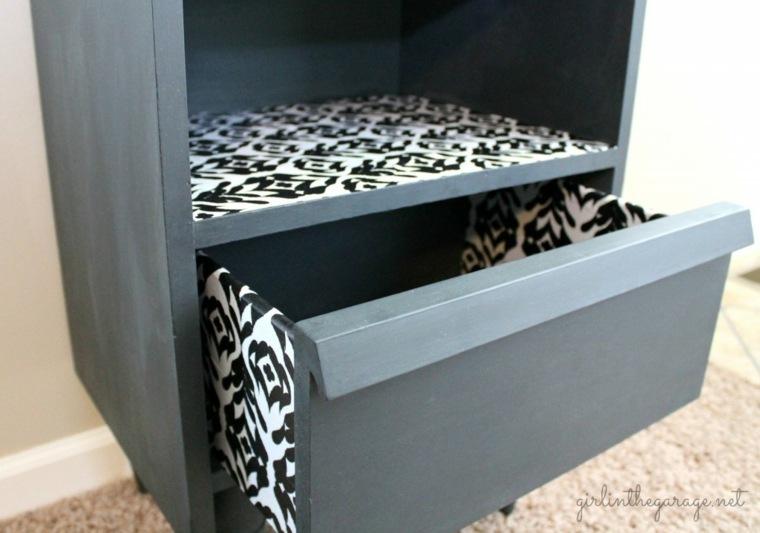 decorar armarios con papel interior