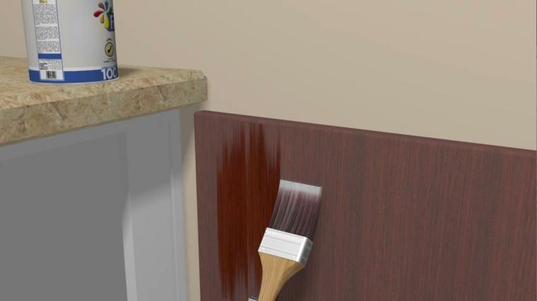 Como decorar un mueble con papel pintado excellent me - Papel decorativo para muebles ...