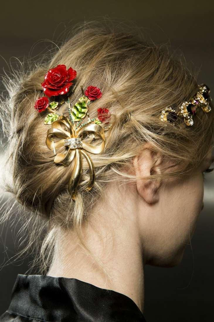 detalles decorativos pelo boda novia belleza ideas
