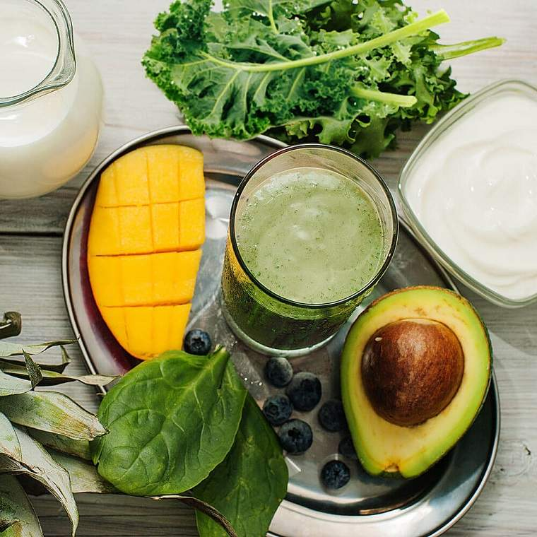 dieta detox smoothies aguacate col vida sana ideas