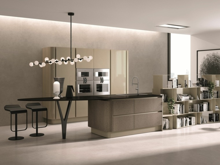 disenar-cocinas detalles negros Aster Cucine Lorenzo Granocchia coleccion Domina ideas