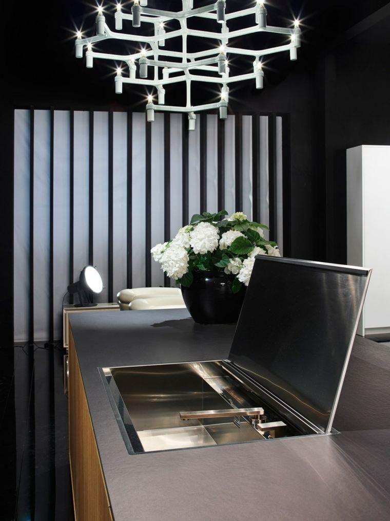 disenar cocinas detalles negros RIFRA ideas