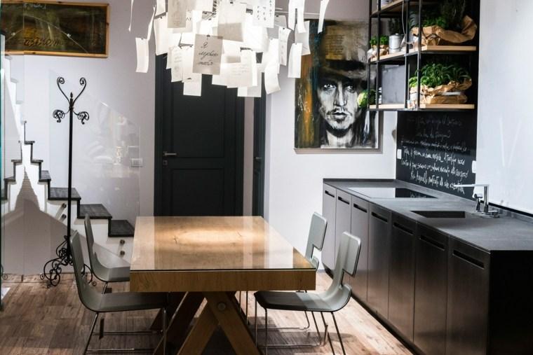 disenar cocinas detalles negros TM Italia Cucine ideas
