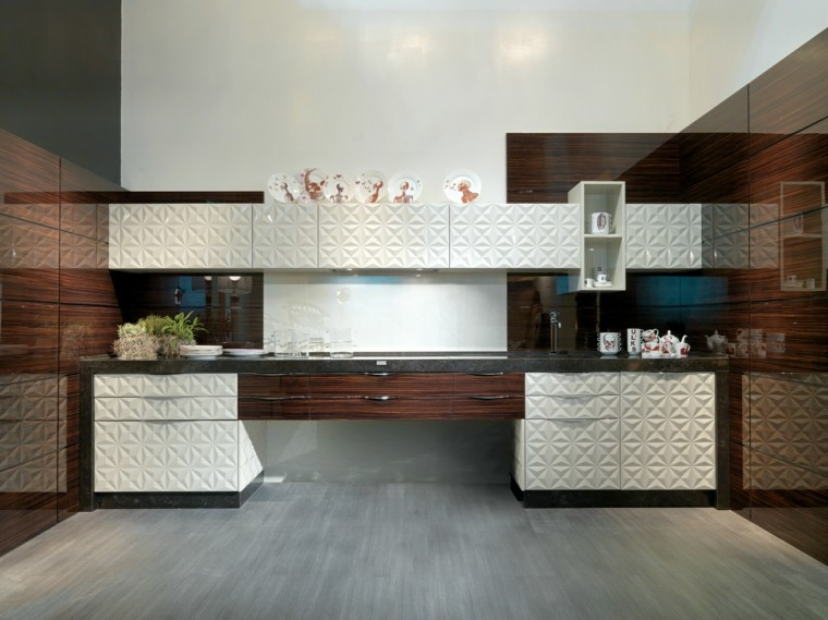 Dise ar cocinas con detalles y muebles de color negro for Bizzotto arredamenti
