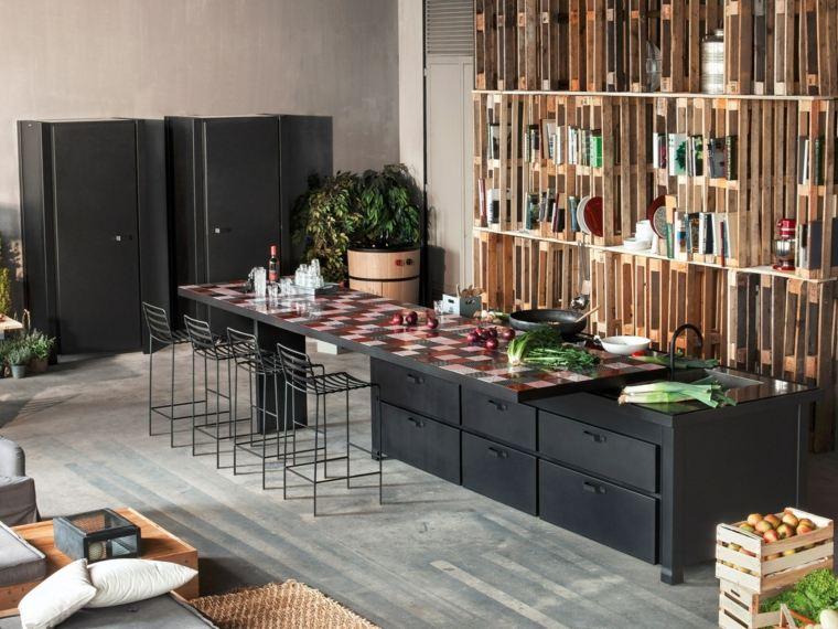 disenar cocinas detalles negros coleccion Mina Minacciolo ideas