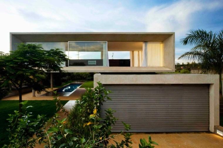 diseno-de-casas-contemporaneo-brasil-garaje