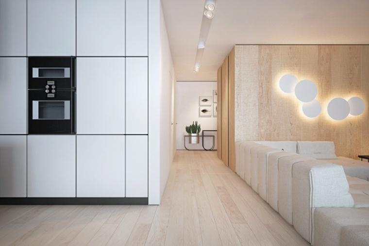 Dise o de interior que combina la madera y los colores - Disenos casas modernas ...