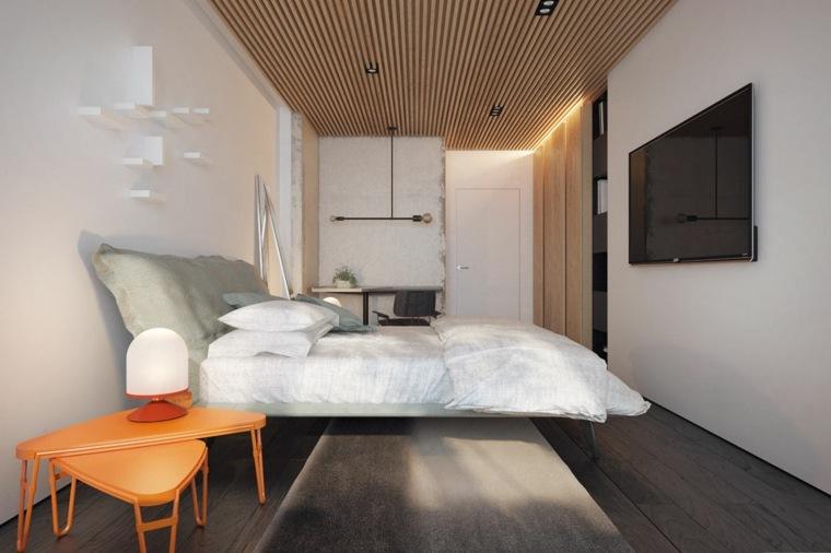 diseño de interior dormitorio elegante