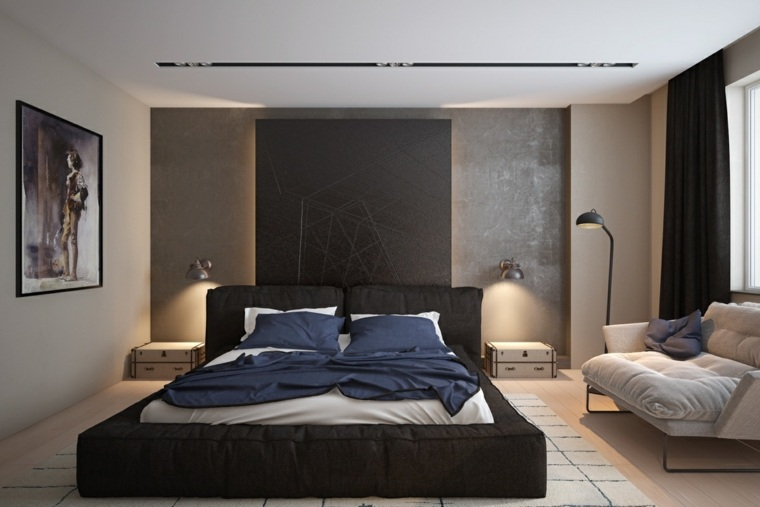 diseño de interior dormitorios modernos