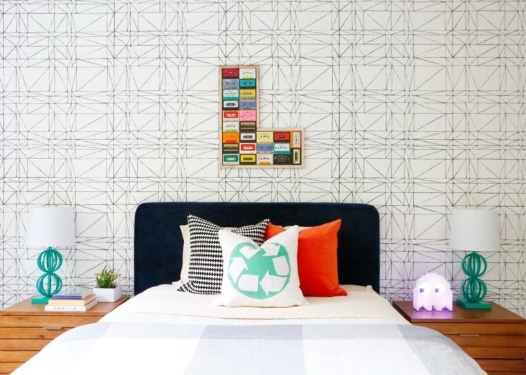distribucion dormitorios paredes decoradas salas imagenes