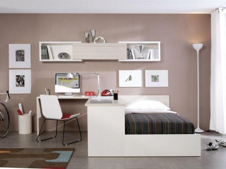 dormitorio juvenil modenro decorar