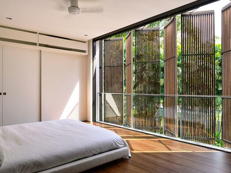 dormitorio luminoso diseno estilo moderno ideas