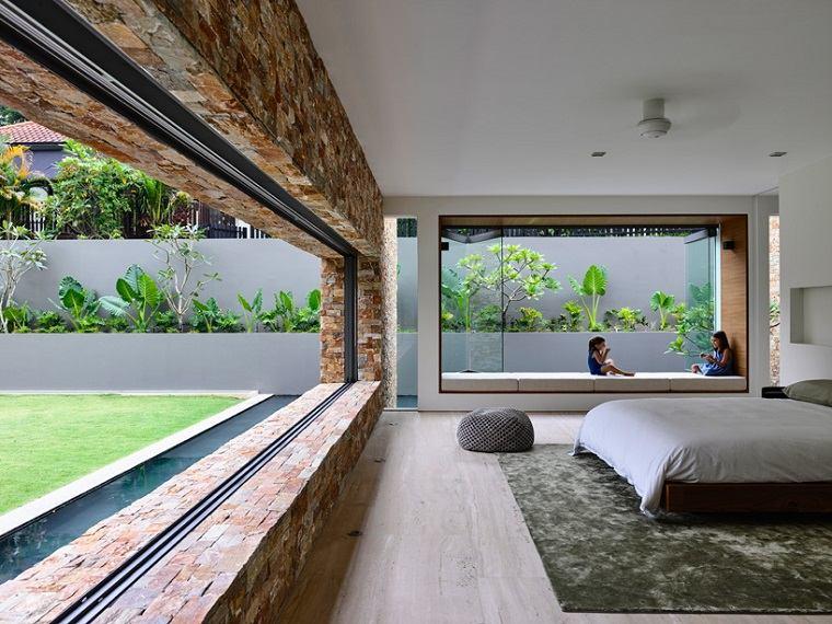 dormitorio moderno casa diseno estilo ideas