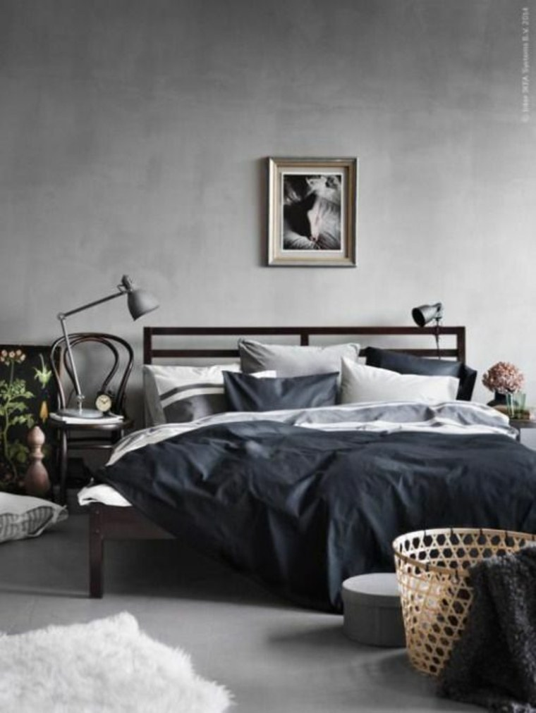 Dormitorios con estilo masculino y elegante 34 dise os - Dormitorios con estilo ...