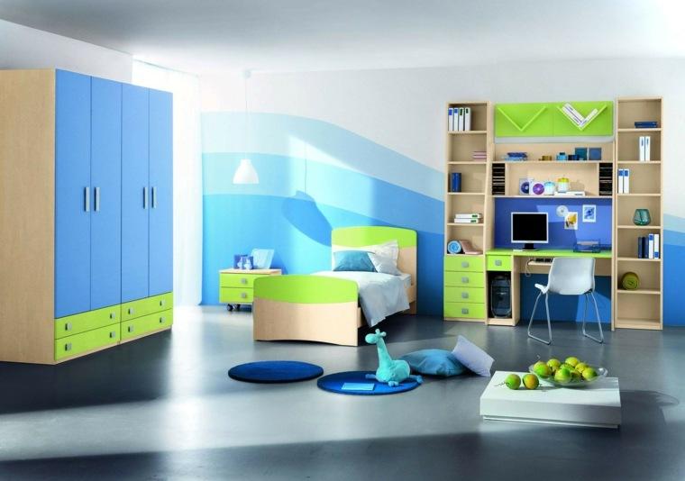 dormitorios individuales infantiles