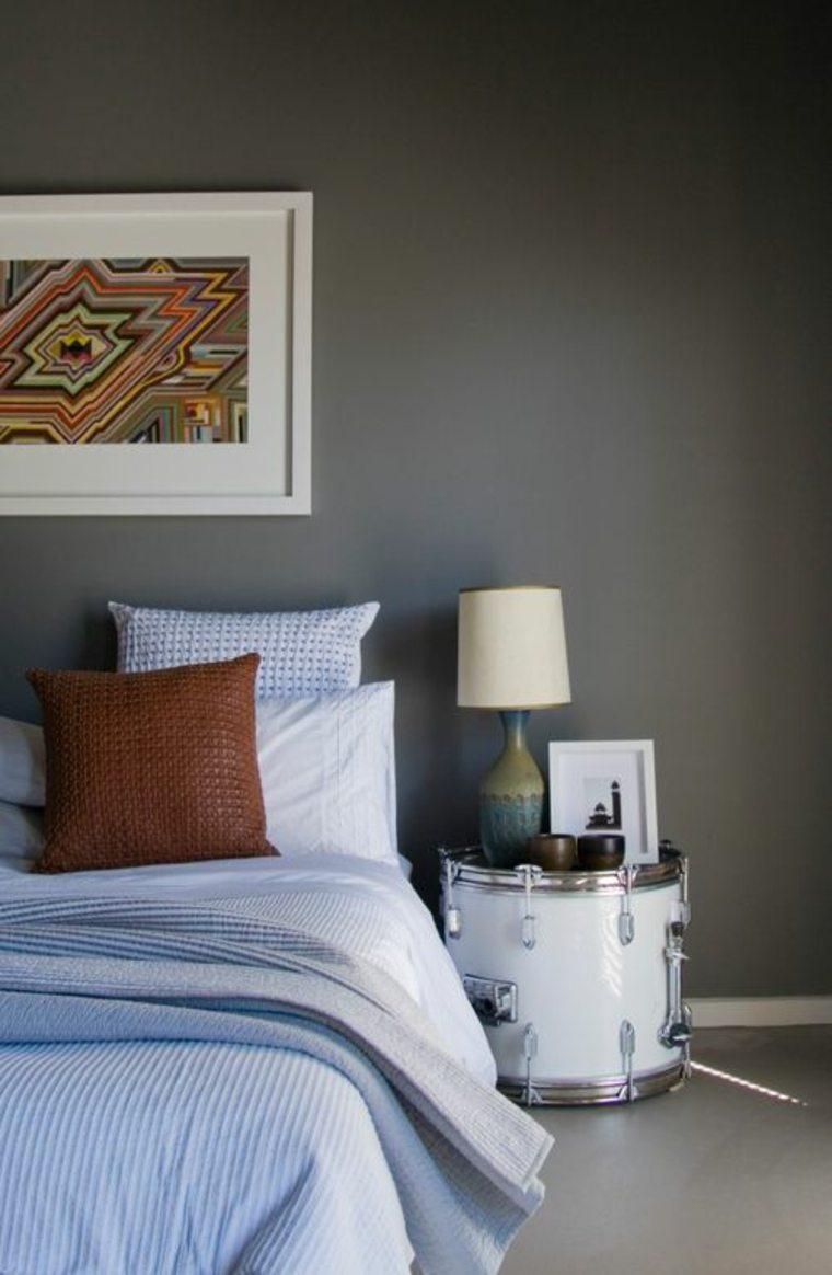 pared color gris