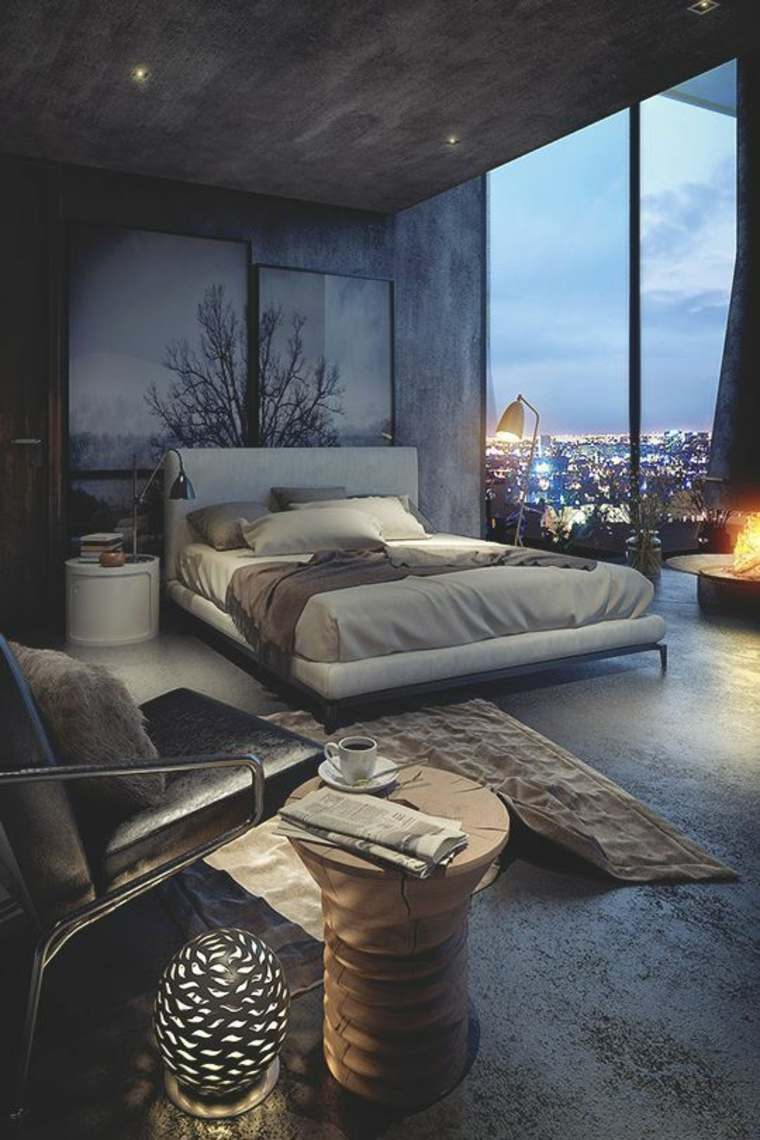 dormitorio vistas
