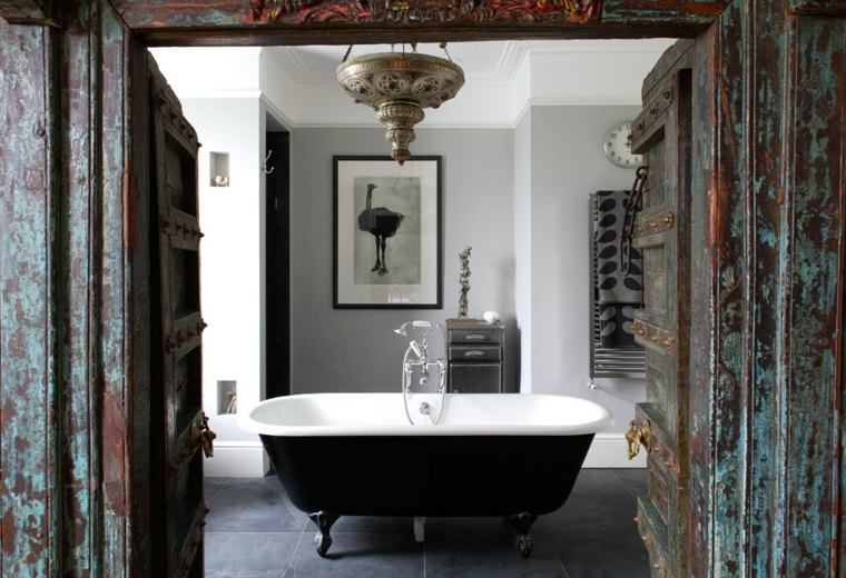 eclectico efectos paredes madera egradada miradas