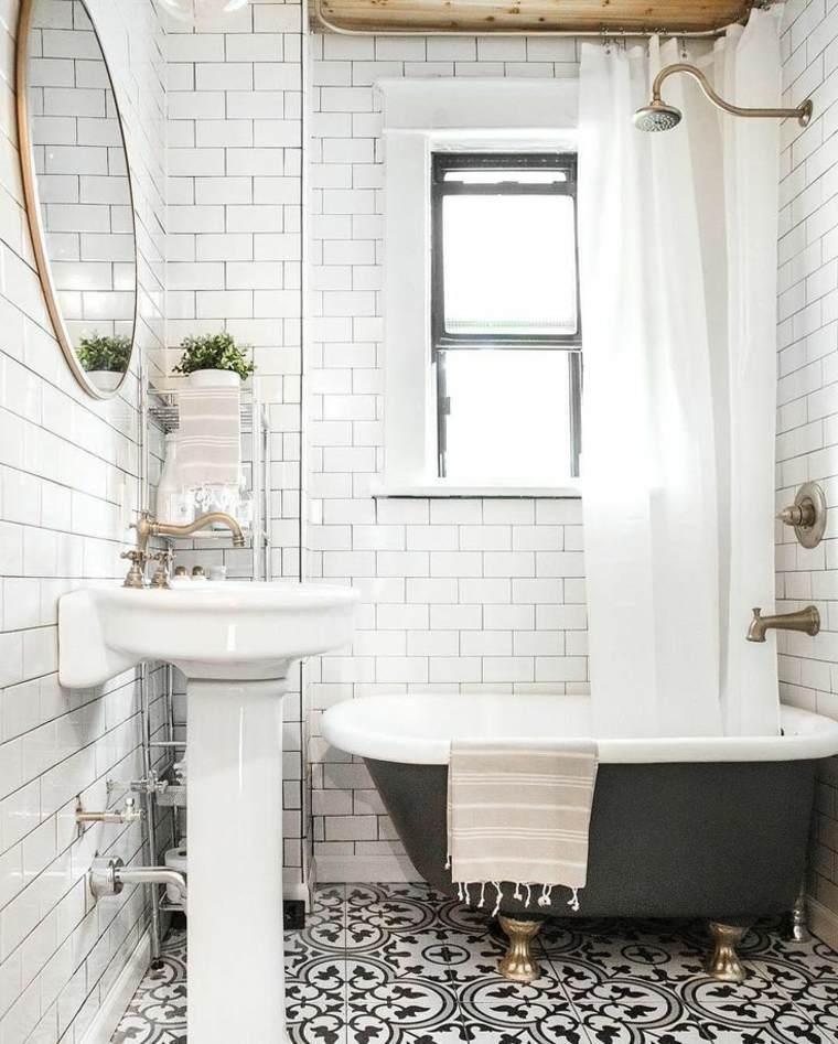 elegante fresco combinando blanco negro paredes