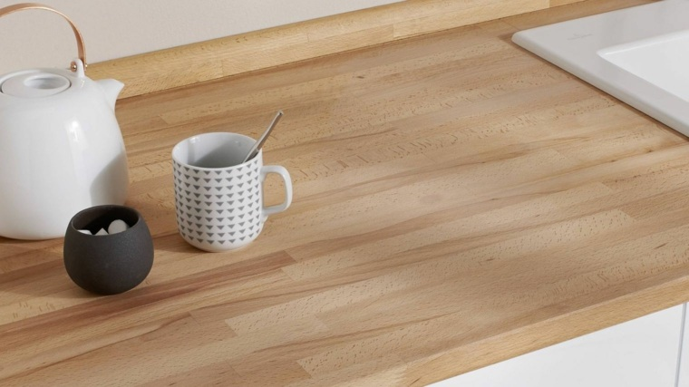 consejos para escoger y mantener las encimeras de madera