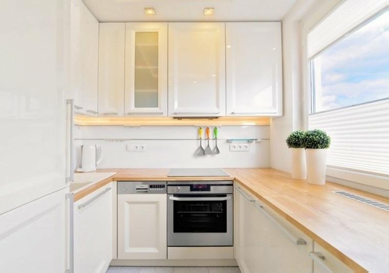 cocina moderna pequeña