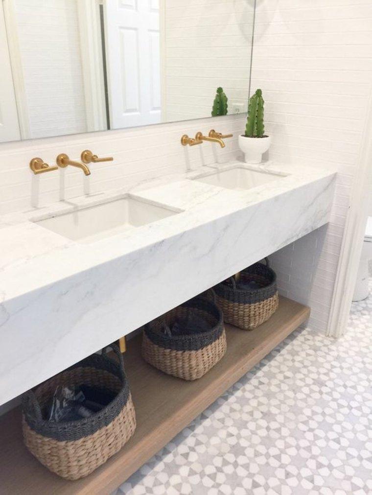 encimera para baños decorar casas
