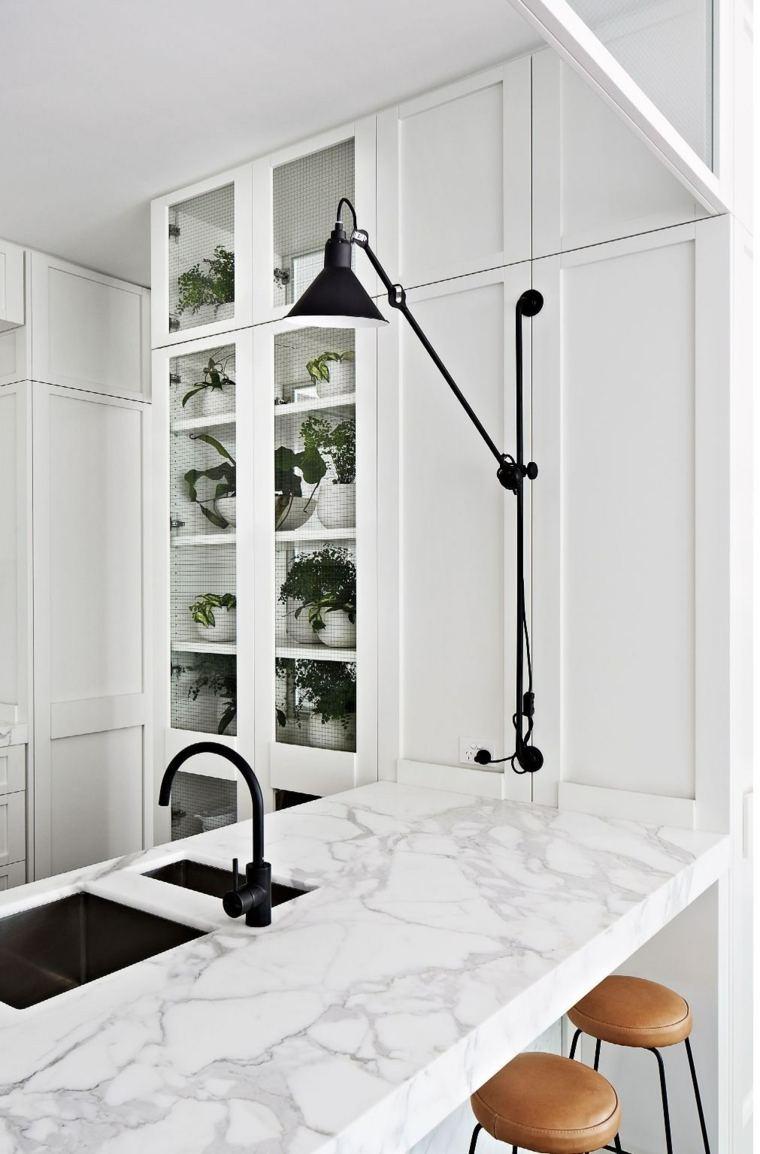 encimeras de cocina marmol Hecker Guthrie ideas