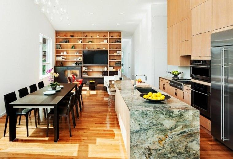 encimeras de cocina mármol Howeler Yoon Architecture ideas