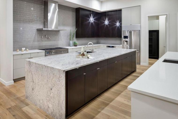 Encimeras de cocina m rmol lujoso que deslumbrara - Encimera marmol cocina ...