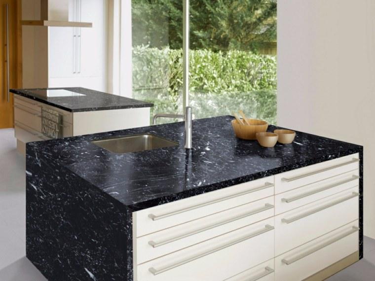 Encimeras de cocina m rmol lujoso que deslumbrara for Encimeras de marmol