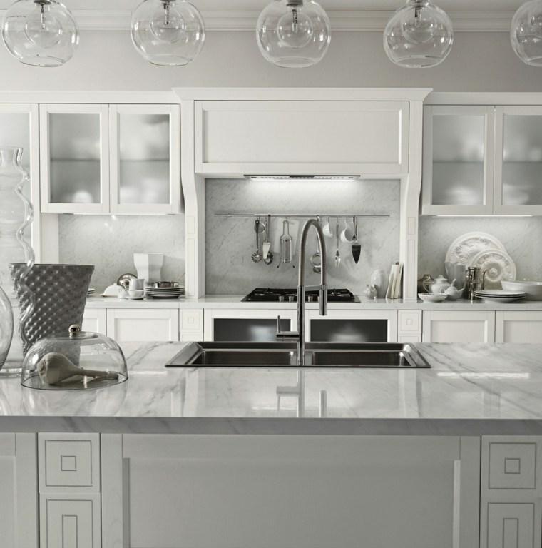 Encimeras de cocina m rmol lujoso que deslumbrara - Marmol encimera cocina ...