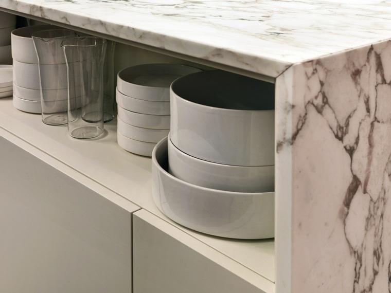 encimeras de cocina mármol lujoso coleccion OPERA fabricado ELAM ideas