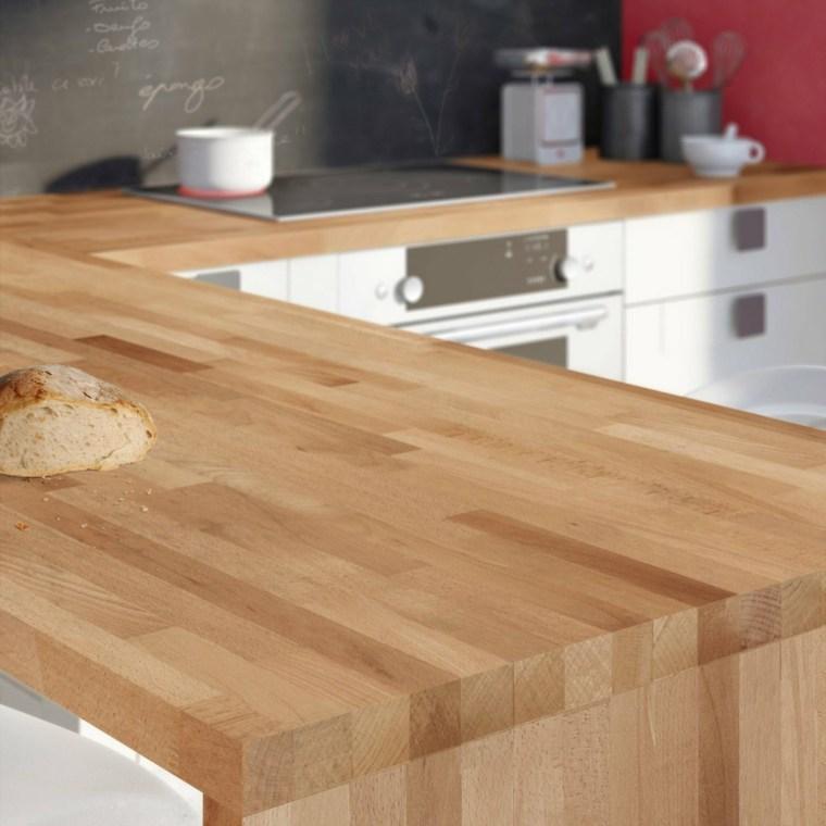 isla de cocina madera