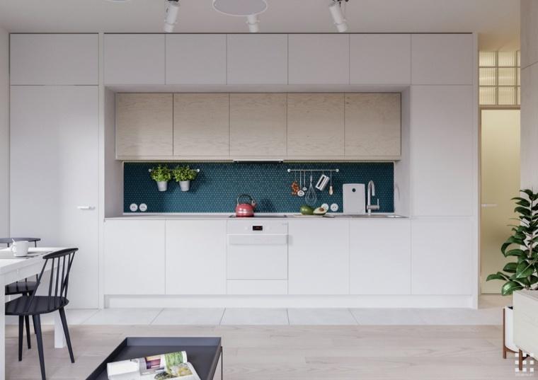 encimeras empotrada sistema cocina espacio