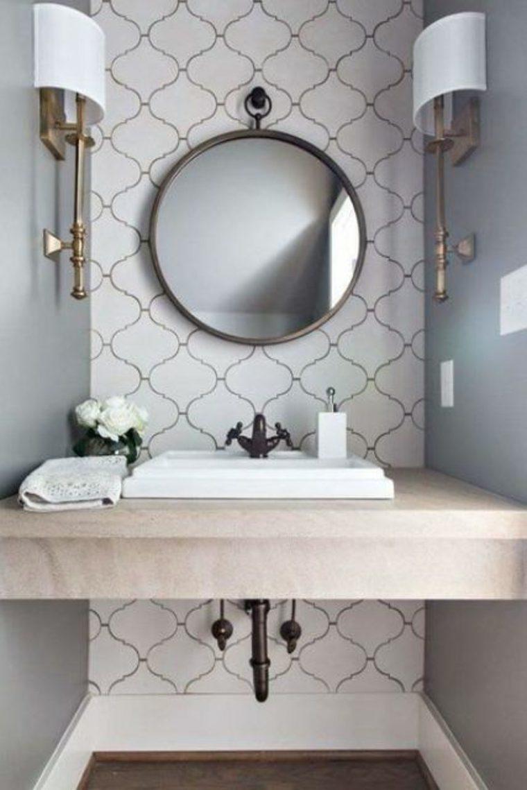 encimeras para baños flotantes decorar interior