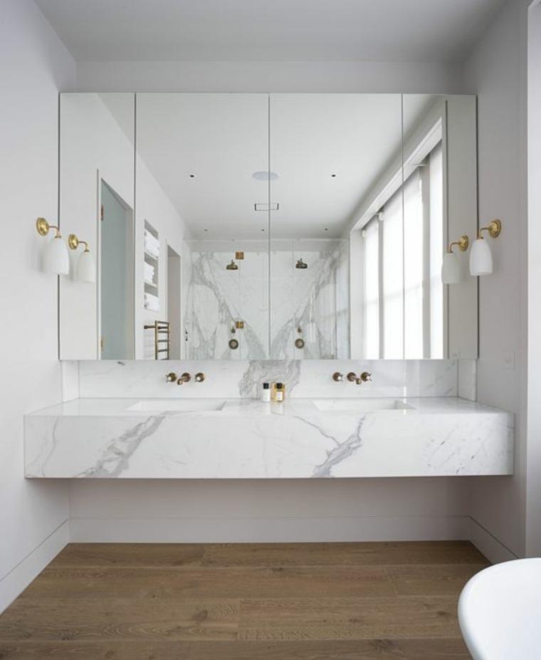 encimeras para baños modernos decorar